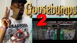 GOOSEBUMPS 2: HAUNTED HALLOWEEN - Official Trailer REACTION!!!