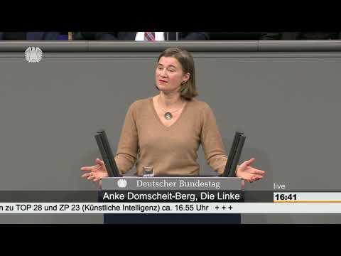 Anke Domscheit-Berg, DIE LINKE: Künstliche Intelligenz muss dem Gemeinwohl dienen