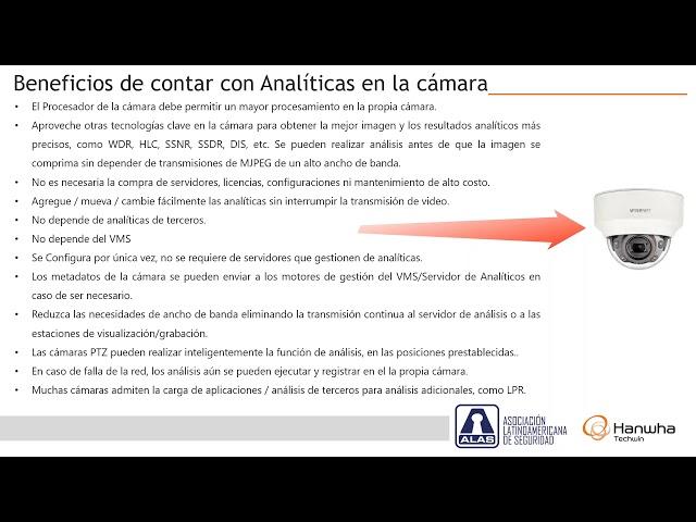 Analíticas de audio y video