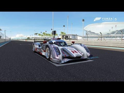 Forza Motorsport 5 - Audi #1 Audi Sport Team Joest R18 e-tron quattro 2012 - Test Drive