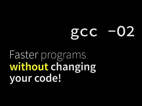Make existing code run faster, with compiler optimizations.