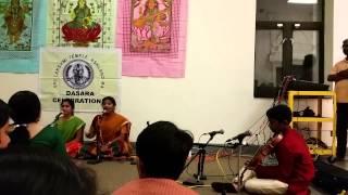 Yash Ravish, Sri Lakshmi Varaham, Abhogi, Dikshithar, Navratri 2014, SriLakshmi Temple, Ashland, MA