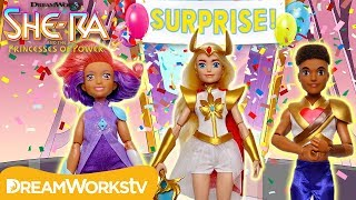 SURPRISE PARTY for She-Ra! | SHE-RA AND THE PRINCESSES OF POWER