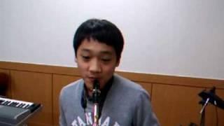목포의 눈물.색소폰, 허민.11살.~ Min Heo.
