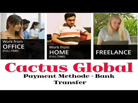How To Make Money Online With cactus global  | For Students | Bangla Tutorial