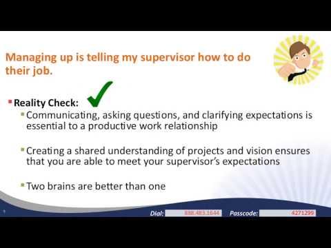 Managing Up Navigating the VISTA Supervisor Relationship