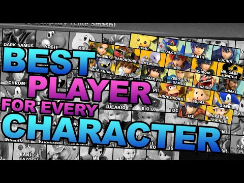 Best Player With Each Character in Smash Ultimate (#19 Pichu - #38 Sonic)