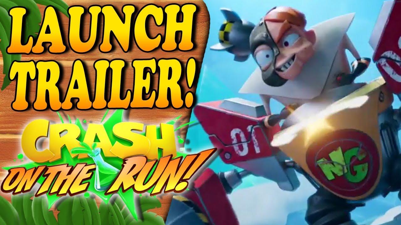 Crash Bandiccot On Th Run é lançado oficialmente para Android e IOS.