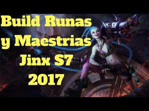 Build Runas Y Maestrias Jinx S7 2017