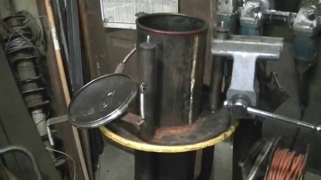 Homemade wood gasifier system
