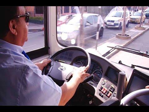 Primer bus eléctrico recorrió calles de Lima