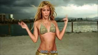 Download lagu Shakira's belly dance through the years.