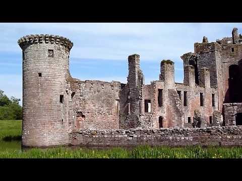 Caeverlock Castle Dumfries And Galloway Scotland