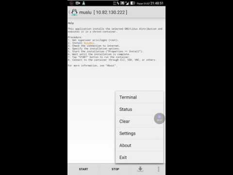 Python, Django, Debian, Linux Deploy on Android and Hacker's Keyboard