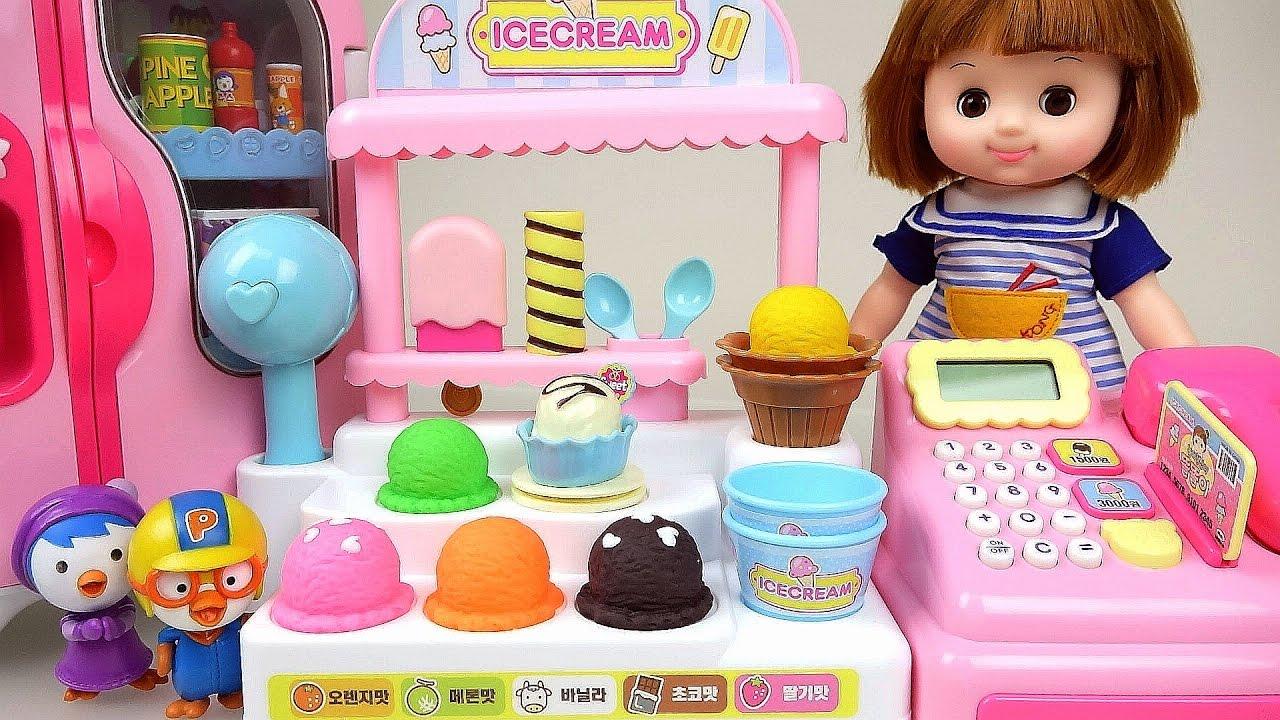 Baby Doll Ice Cream Shop Pororo Anpanman Vending Machine