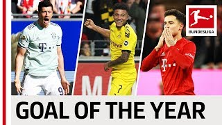 Top 15 Goals 2019 - Vote For The Goal Of The Year