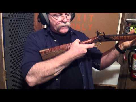 firing a kentucky long rifle
