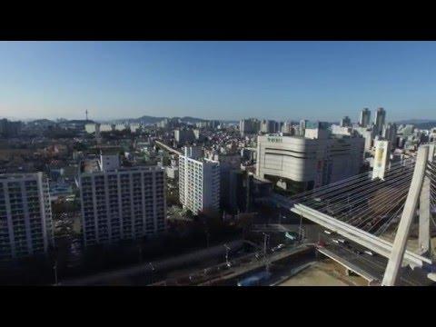 팬텀3 4k  대구시수성구드론영상 by 아임드론