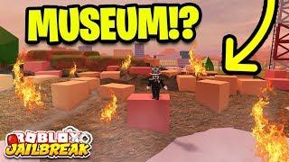 🔴 NEW MUSEUM ROBBERY SOON! BUILDING DESTROYED! Roblox Jailbreak (New Mini Update)