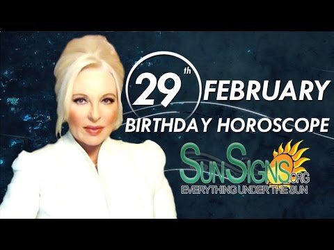 Birthday February 29th Horoscope Personality Zodiac Sign Pisces Astrology