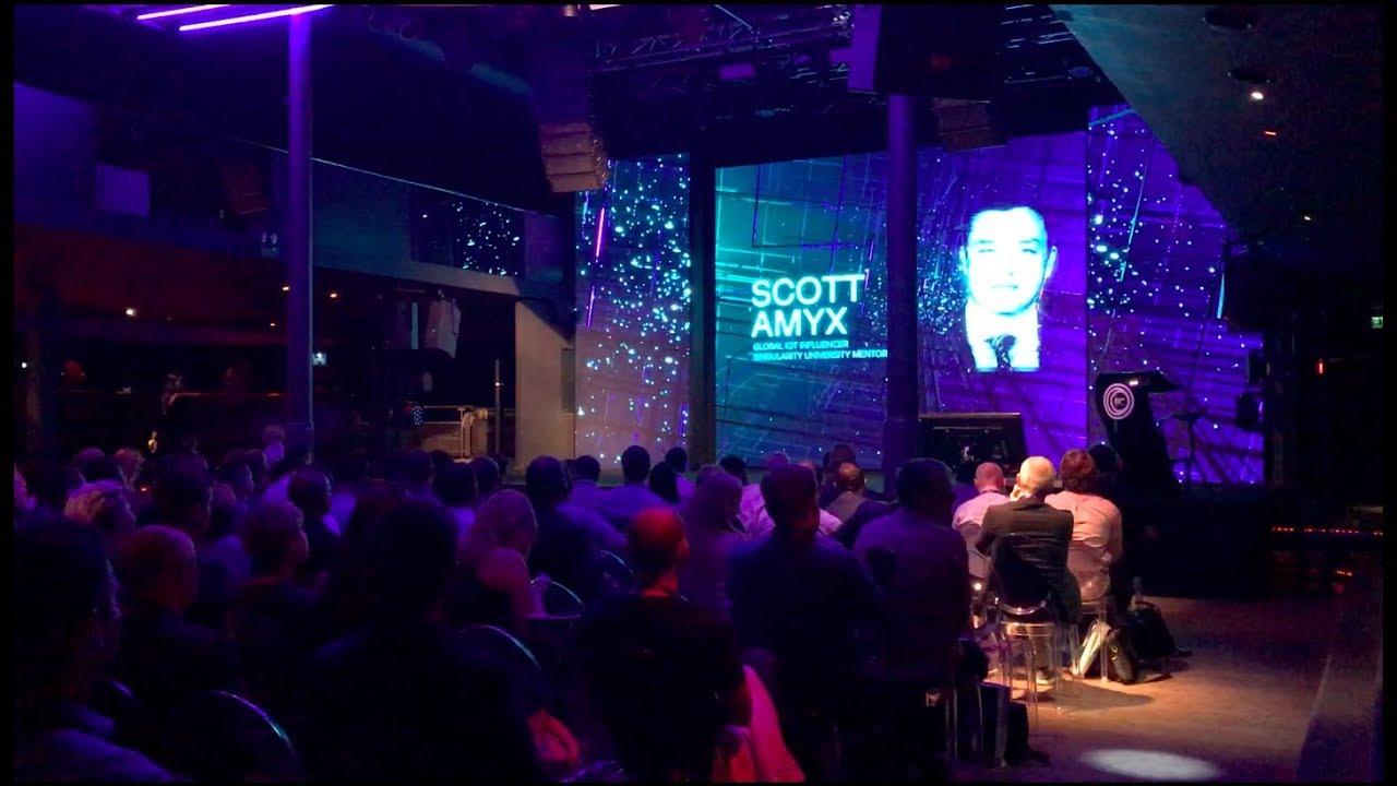 Scott Amyx Speaking at Prague on Smart Sustainable Cities