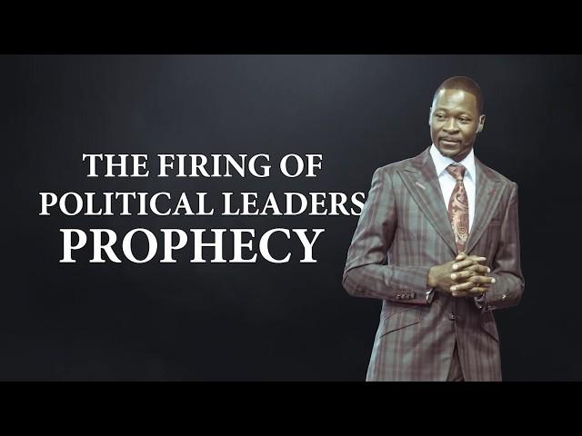 Emmanuel Makandiwa - Firing of Political Leaders Prophecy