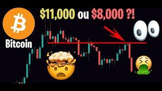 BITCOIN SUR SON ÉNORME RÉSISTANCE !! $11,000 OU $8,000 ?!! - Analyse Crypto Bitcoin Altcoin - 03/02