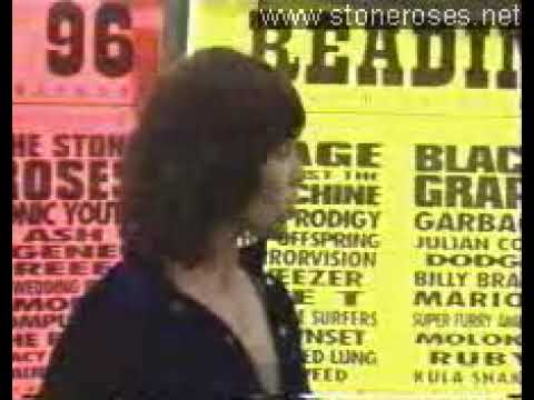 The Stone Roses - Reading  Press Conference