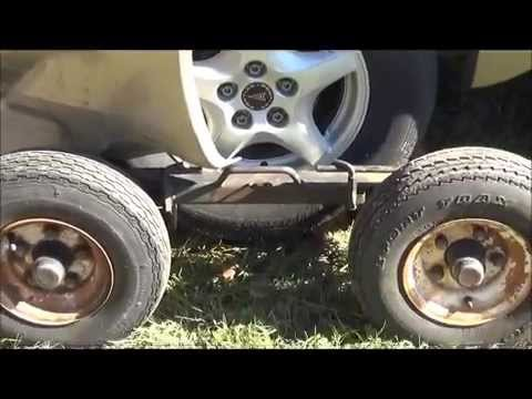 Car Wheel Dolly >> How To Use Self Loading Wrecker Dollies - YouTube