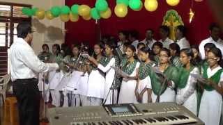 Tharakame Divyatharakame sung by students of Marthoma College, Tiruvalla - carol 2014