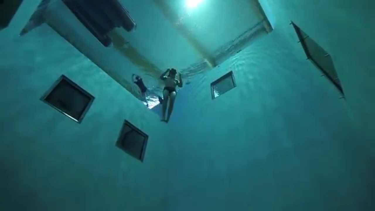 Guillaume Néry on  NEMO 33,  the deepest pool in the world