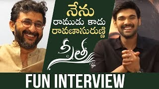Director Teja and Bellamkonda Sreenivas Exclusive Interview About Sita Movie | Manastars