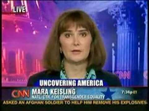 Mara Keisling on CNN - YouTube