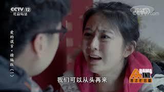 《普法栏目剧》 20190804 爱的谎言·精编版(一)| CCTV社会与法