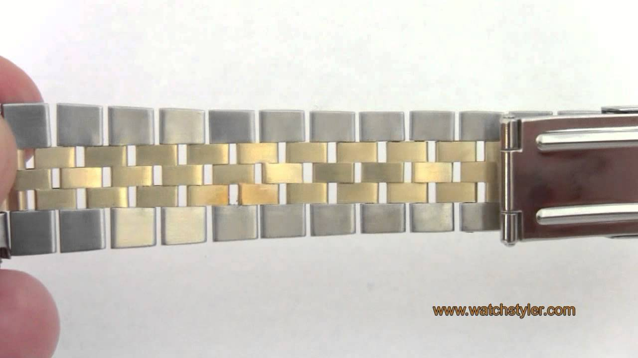 Aftermarket Jubilee Band For Rolex Datejust Watches