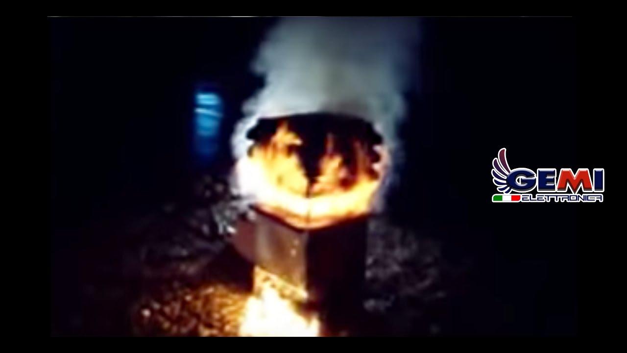 test incendio aspiratore gemi modello professionale www