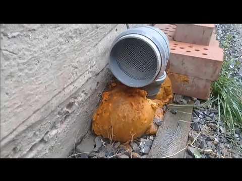 Вентиляция подполья в частном доме своими руками схема