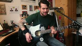 Millencolin - Fingers Crossed - acoustic punk cover by Dave Collide