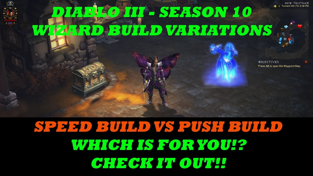 Diablo  Season  Wizard Builds