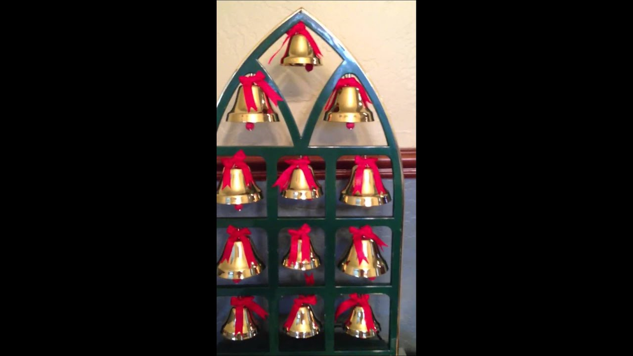 ye merrier minstrel caroling christmas bells aus300