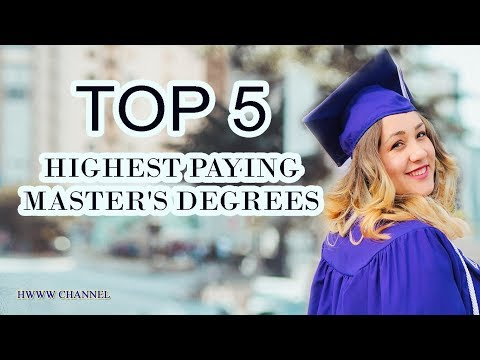 HIGHEST PAYING MASTERS DEGREES