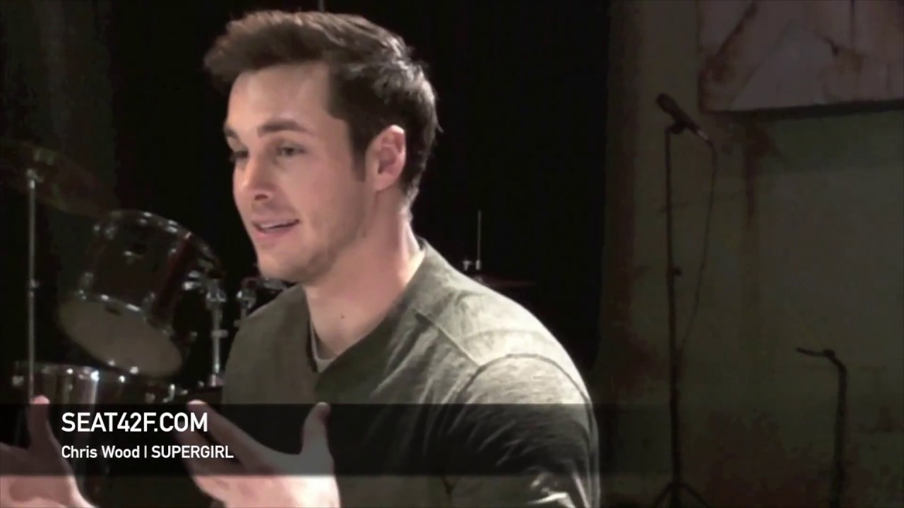 Chris Wood Supergirl Set Visit Interview Youtube