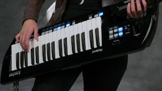 Roland Lucina AX-09 Lessons - The Lead in the Band
