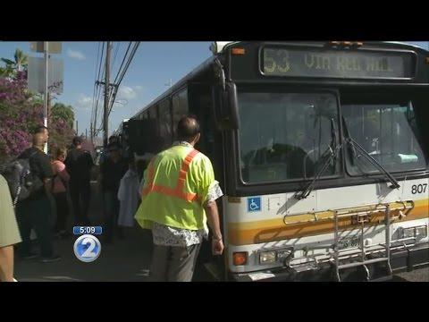 Lane closures, bus detours catch travelers by surprise