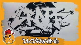 Graffiti Tutorial - Graffiti Letters Graff step by step