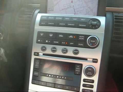 05 Infiniti G35 6 Speed WNavigation Sedan Stock 0370