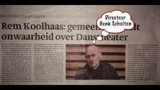 Directeur Henk Scholten en gemeente liegen!