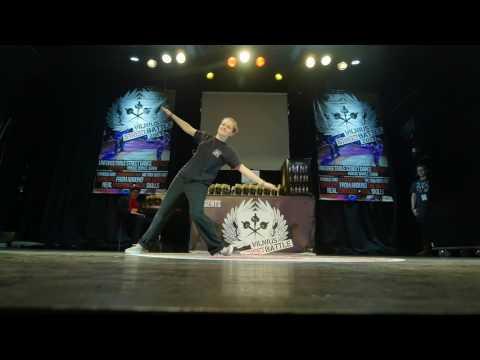 Popping 1vs1 Preselections Kozo LT  @Vilnius Street Battle 2017