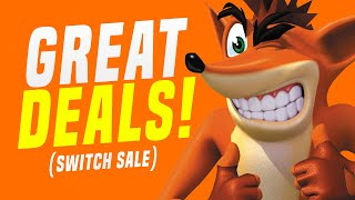 HUGE Nintendo Switch Game Sale…