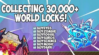 Collecting dls from my buy+ worlds insane profit | Growtopia